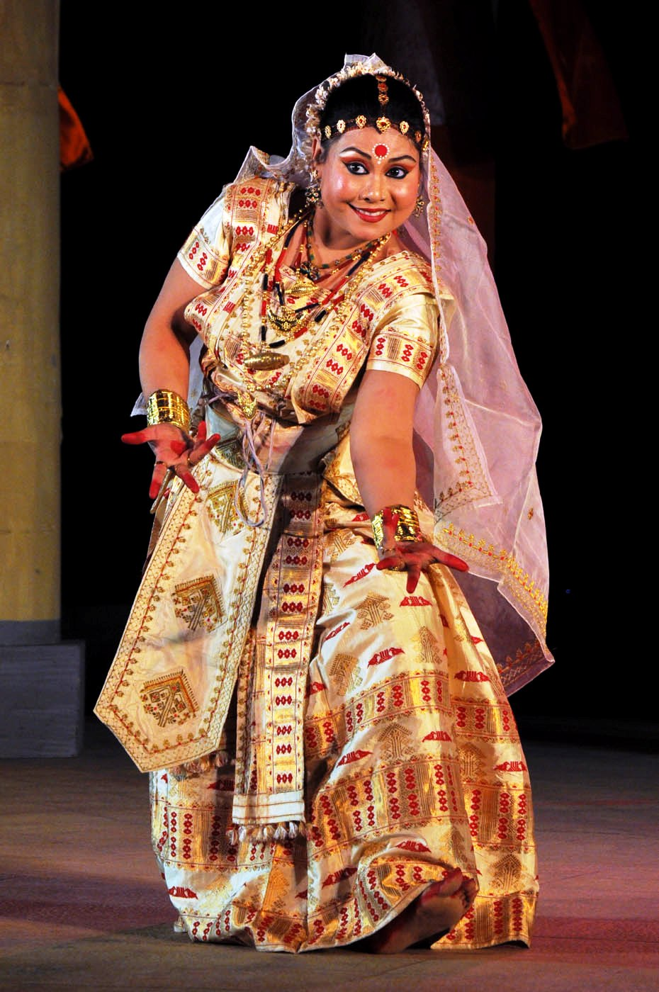 Sattriya by Manashri Dihingiya from Guwahati at 7th PRAGJYOTI INTERNATIONAL DANCE FESTIVAL GHY 4