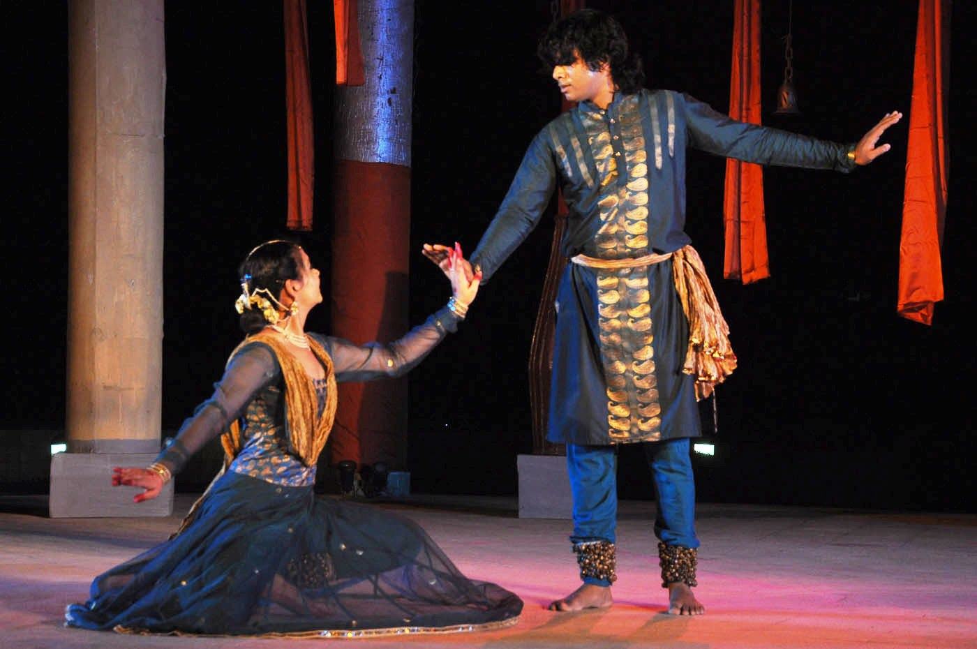 Shubhi Johari and Amit Khinchi from at 7th PRAGJYOTI INTERNATIONAL DANCE FESTIVAL GHY 5